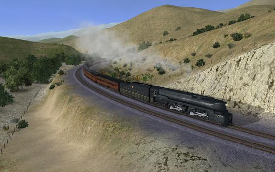 Trainz DLC PRR T1 A Fleet of Modernism on PC screenshot #2