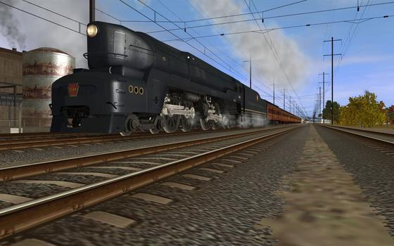 Trainz DLC PRR T1 A Fleet of Modernism on PC screenshot #1