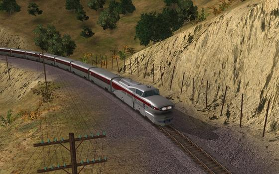 Trainz Simulator: Aerotrain DLC on PC screenshot #3