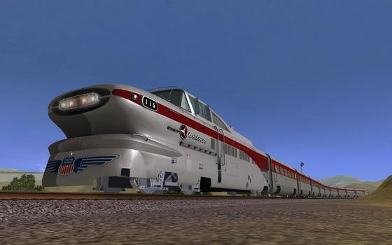 Trainz Simulator: Aerotrain DLC on PC screenshot #1