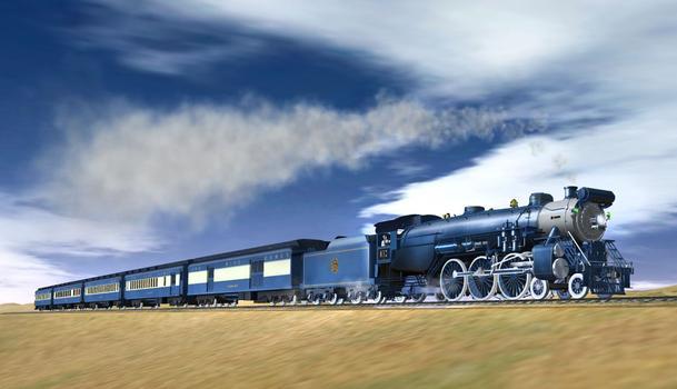Trainz Simulator: Blue Comet Addon Pack on PC screenshot #1