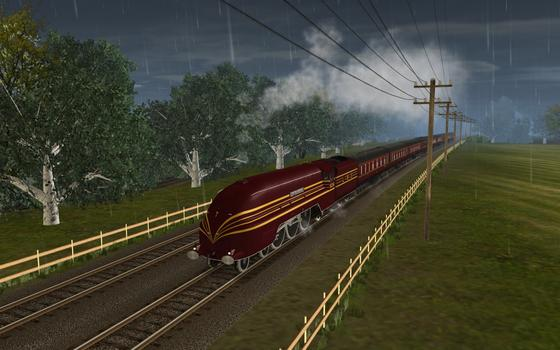 Trainz Simulator: Coronation Scot on PC screenshot #1