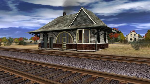 Trainz Simulator: Nickel Plate High Speed Freight Set on PC screenshot #10