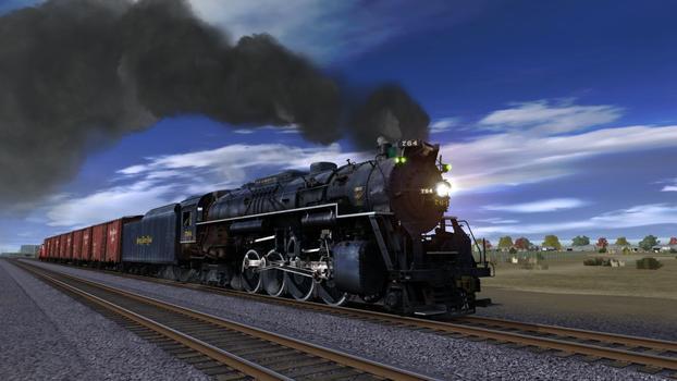 Trainz Simulator: Nickel Plate High Speed Freight Set on PC screenshot #1