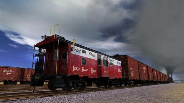 Trainz Simulator: Nickel Plate High Speed Freight Set on PC screenshot #7