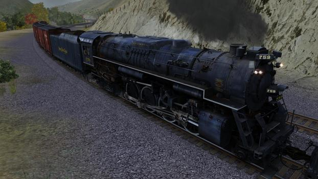 Trainz Simulator: Nickel Plate High Speed Freight Set on PC screenshot #4