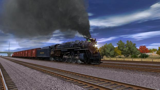 Trainz Simulator: Nickel Plate High Speed Freight Set on PC screenshot #3