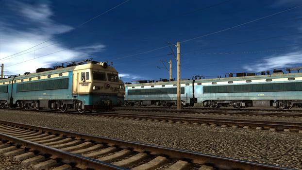 Trainz Simulator: SS4 China Coal Heavy Haul Pack on PC screenshot #5