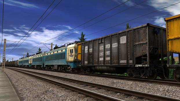 Trainz Simulator: SS4 China Coal Heavy Haul Pack on PC screenshot #2