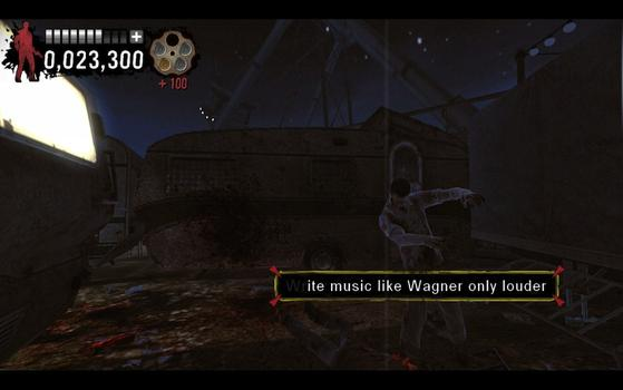 Typing of the Dead: Overkill - Dancing With the Dead on PC screenshot #1