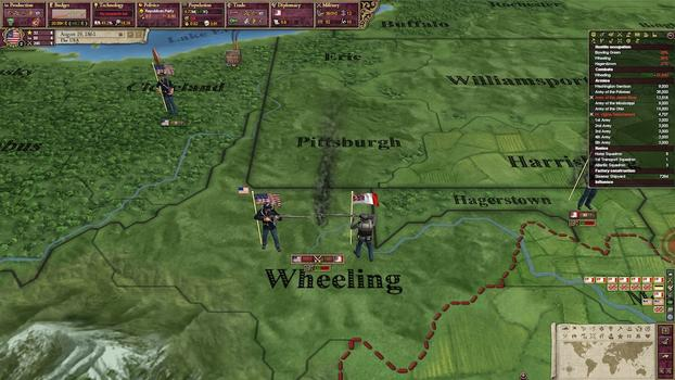 Victoria II: AHD American Civil War Spritepack on PC screenshot #1