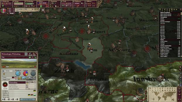 Victoria II: A Heart of Darkness on PC screenshot #1