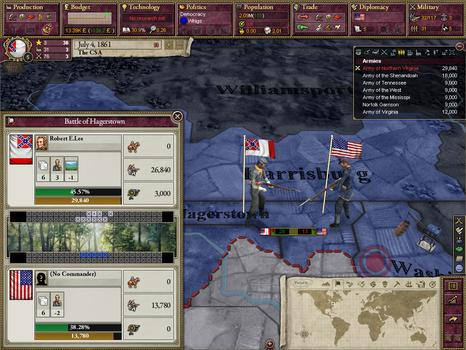 Victoria II: A House Divided on PC screenshot #5