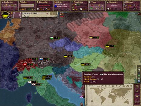 Victoria II: A House Divided on PC screenshot #3