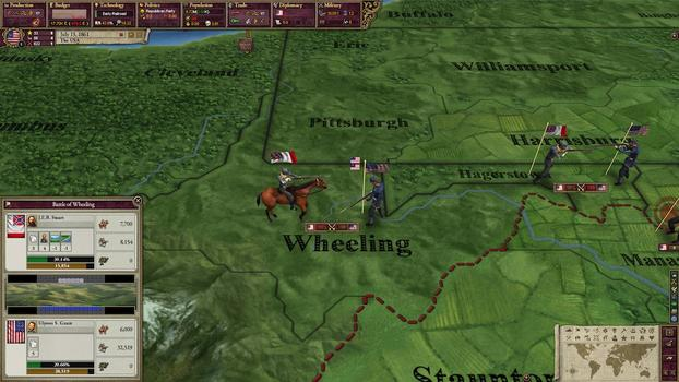 Victoria II: Songs of the Civil War DLC on PC screenshot #5
