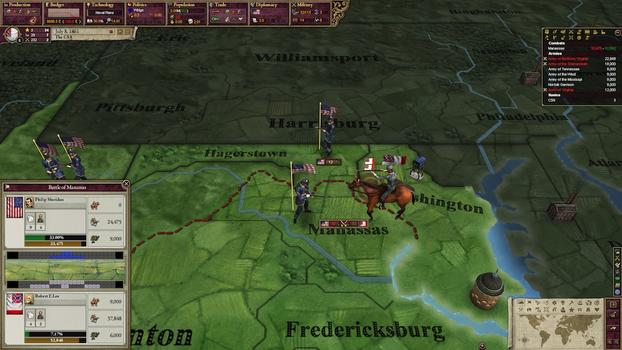Victoria II: Songs of the Civil War DLC on PC screenshot #4