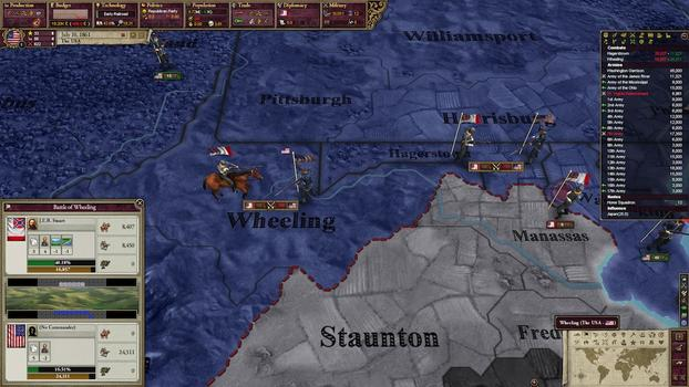 Victoria II: Songs of the Civil War DLC on PC screenshot #1