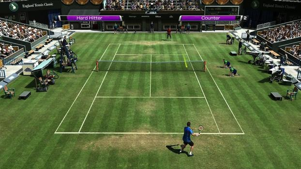 Virtua Tennis 4 on PC screenshot #3
