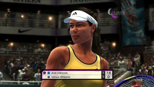 Virtua Tennis 4 on PC screenshot #2