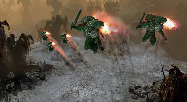 Warhammer 40000: Dawn of War II: Retribution - Dark Angels Pack on PC screenshot #4
