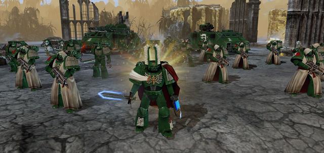 Warhammer 40000: Dawn of War II: Retribution - Dark Angels Pack on PC screenshot #3