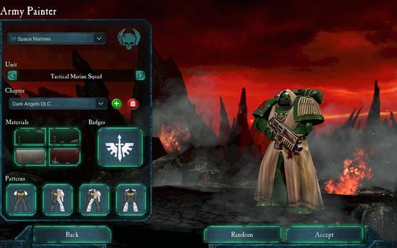 Warhammer 40000: Dawn of War II: Retribution - Dark Angels Pack on PC screenshot #2