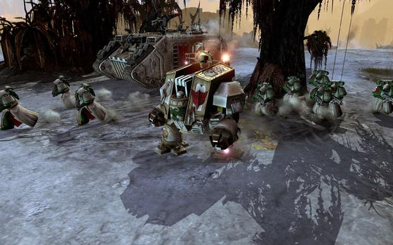Warhammer 40000: Dawn of War II: Retribution - Dark Angels Pack on PC screenshot #1