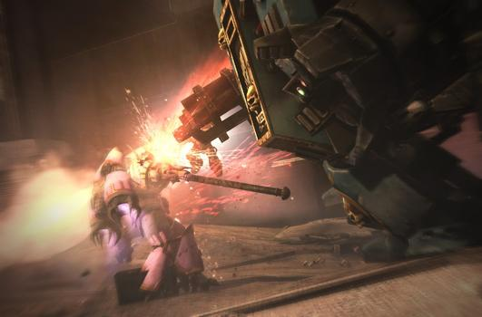 Warhammer 40000: Space Marine - Dreadnought on PC screenshot #4