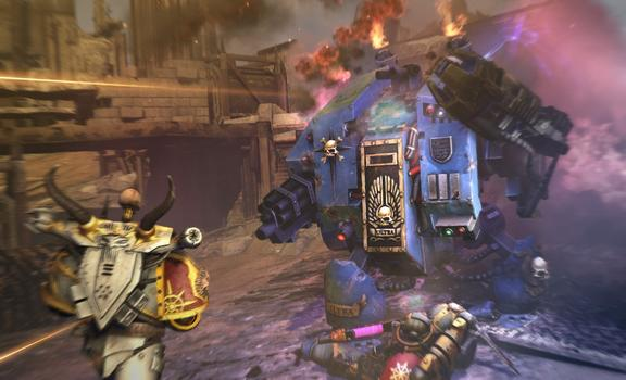 Warhammer 40000: Space Marine - Dreadnought on PC screenshot #1