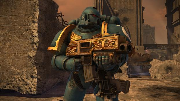 Warhammer 40000: Space Marine - Golden Relic Bolter  on PC screenshot #1