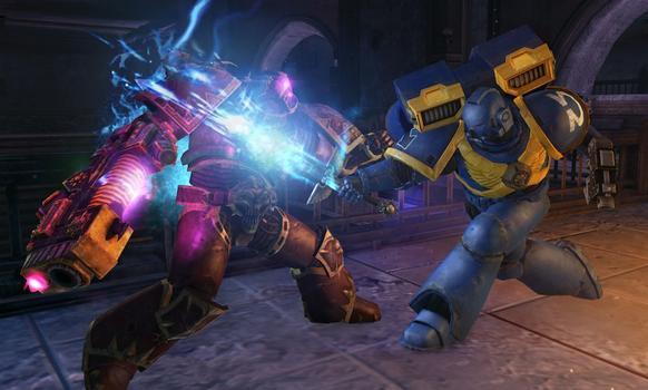 Warhammer 40000: Space Marine - Power Sword on PC screenshot #1