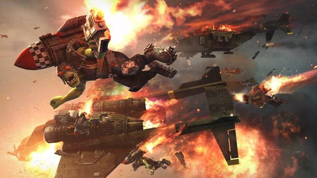 Warhammer 40000: Space Marine on PC screenshot #6