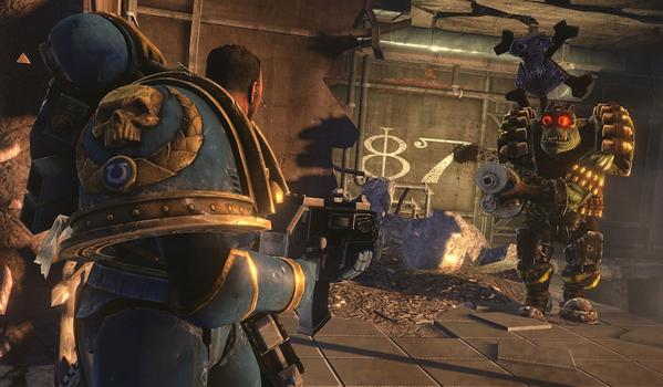 Warhammer 40000: Space Marine on PC screenshot #4