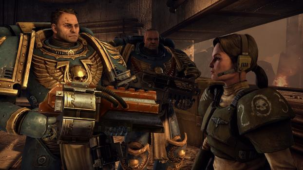Warhammer 40000: Space Marine on PC screenshot #3
