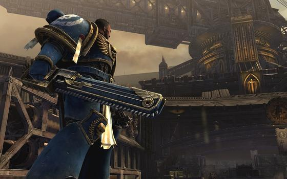 Warhammer 40000: Space Marine on PC screenshot #2