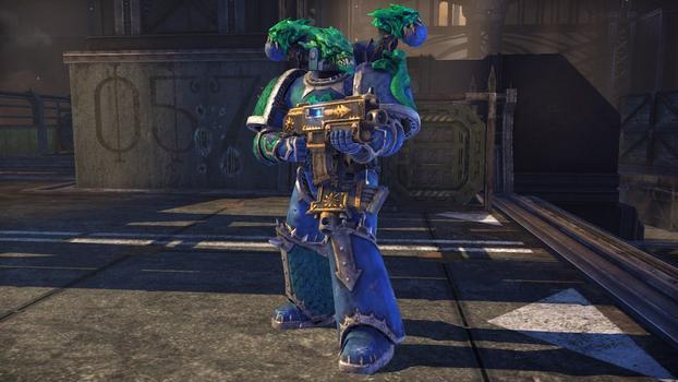 Warhammer 40000: Space Marine - Alpha Legion Champion Armour Set  on PC screenshot #1