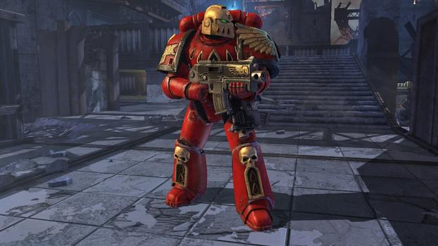 Warhammer 40000: Space Marine - Blood Angels Veteran Armour Set on PC screenshot #1