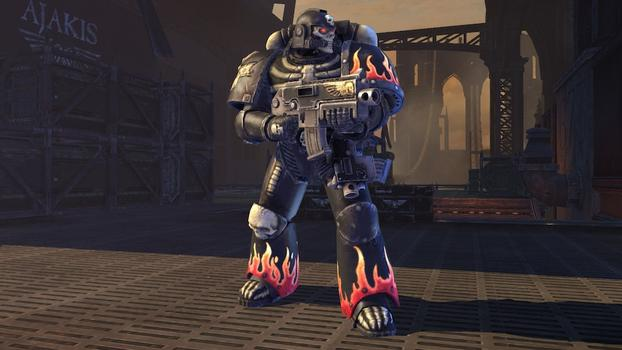 Warhammer 40000: Space Marine - Legion of the Damned Armour Set on PC screenshot #1