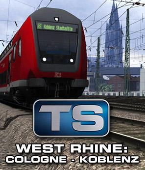 Train Simulator: Train Simulator: West Rhine: Cologne - Koblenz Route Add-On