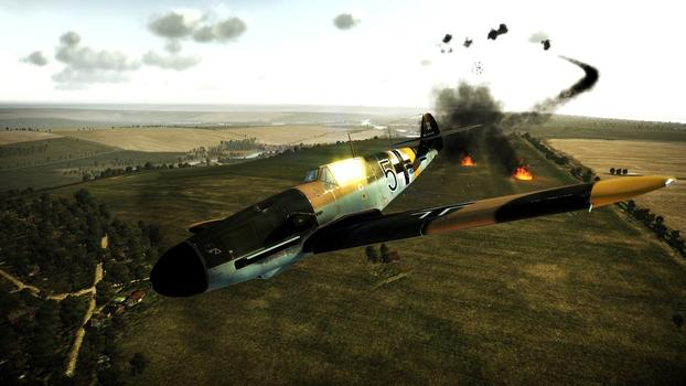 Wings of Prey Wings of Luftwaffe DLC on PC screenshot #1