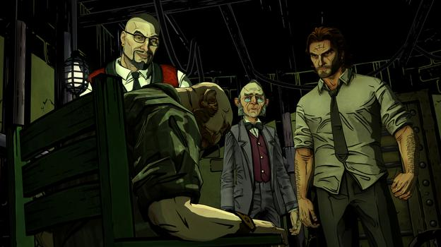 The Wolf Among Us on PC screenshot #5