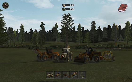 Woodcutter Simulator on PC screenshot #1