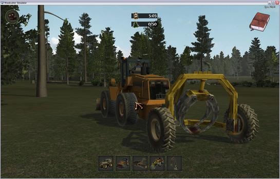 Woodcutter Simulator on PC screenshot #3