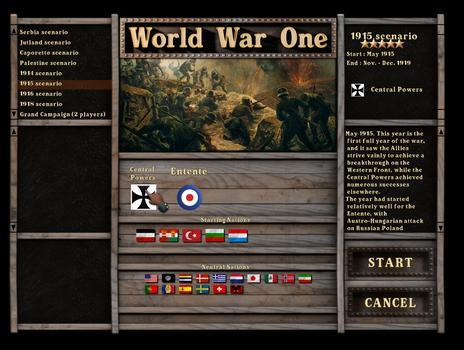 World War One: Centennial Edition on PC screenshot #4