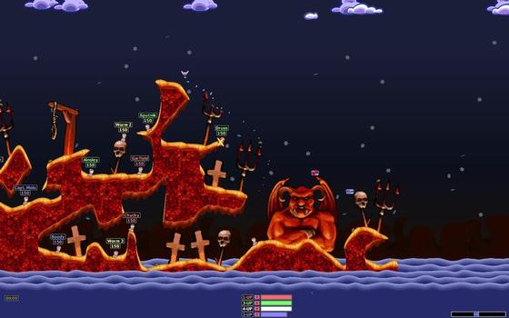Worms Armageddon on PC screenshot #8
