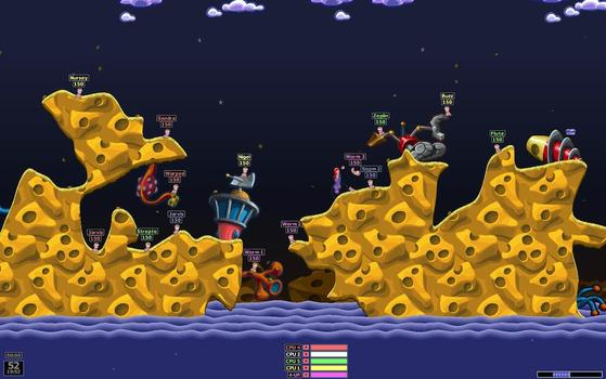 Worms Armageddon on PC screenshot #1