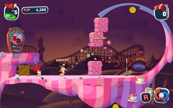 Worms Crazy Golf on PC screenshot #5