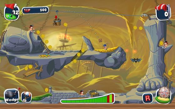 Worms Crazy Golf on PC screenshot #4