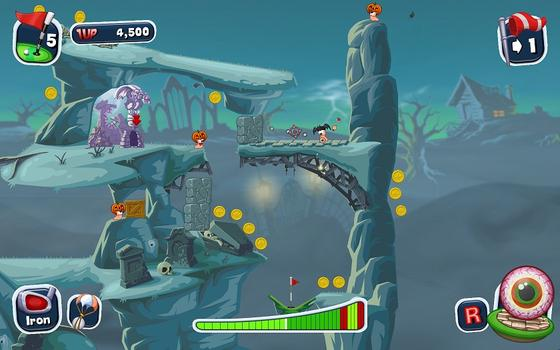 Worms Crazy Golf on PC screenshot #3