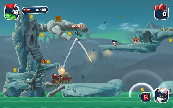 Worms Crazy Golf on PC screenshot #2